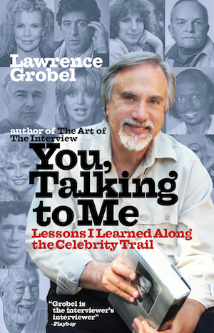 Book cover of you talking to me by Lawrence Grobel