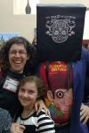 Arielle Eckstut, David Henry Sterry, family at Tucson Festival of Books