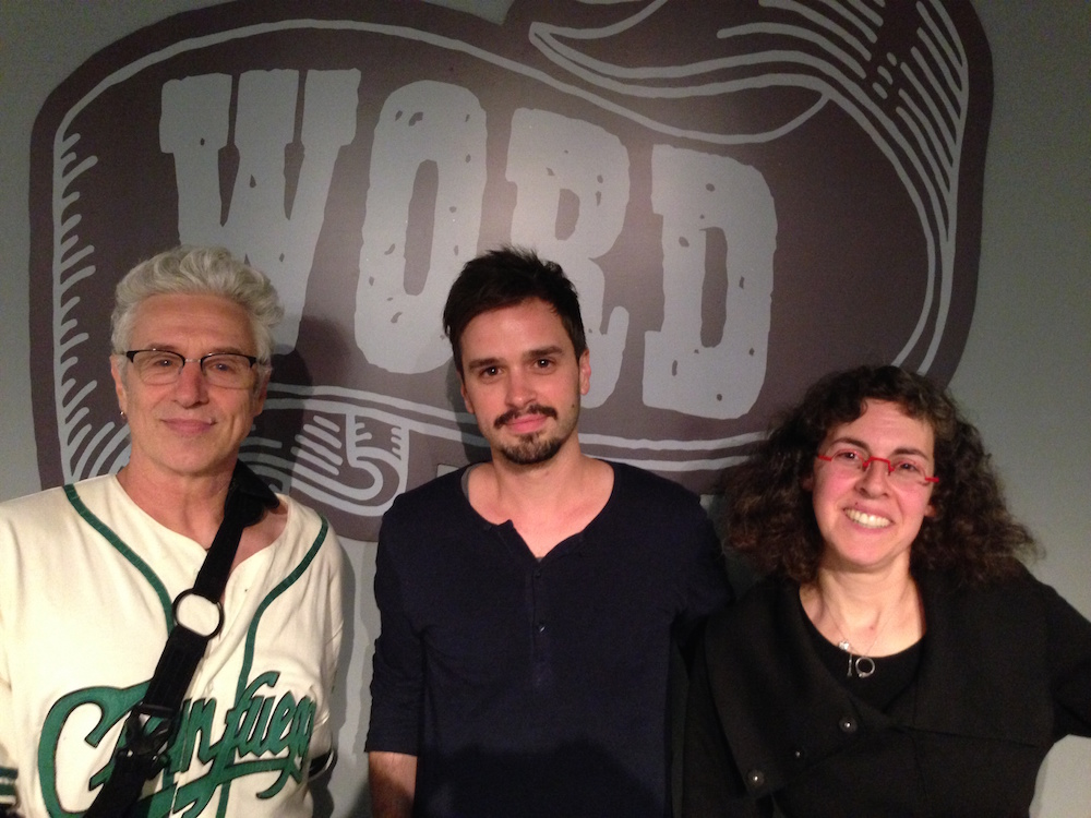 Val Emmich and the Book Doctors at Word Bookstore. Sebastian Krawiec, photo